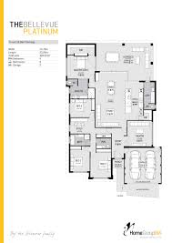 the bellevue platinum display home floor plan only available at
