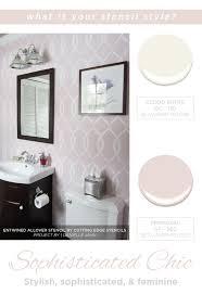 Bathroom Wall Stencil Ideas 229 Best Color Combos U0026 Ideas Images On Pinterest Cutting Edge