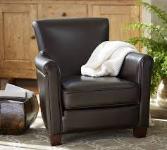 Pottery Barn Delivery Phone Number Irving Leather Armchair Pottery Barn