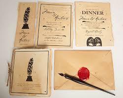 Wedding Stationery Sets Shakespeare Wedding Invitation Suite On Behance