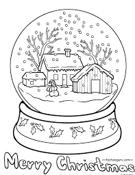 best snow coloring pictures printable coloring pages