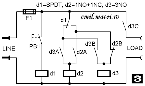 emil matei on off switch using 3 relays ten versions