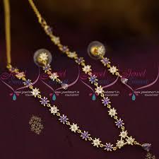 coloured stone necklace images Simple stone necklace design la necklace jpg