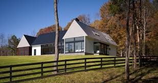 Contemporary Take On The Warm Country Home Concrete Exterior - Modern country home designs
