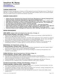 Pmo Resume Sample by Download Resume For Manager Position Haadyaooverbayresort Com