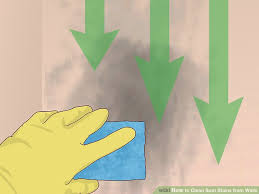 how to clean wall stains how to clean soot stains from walls with pictures wikihow