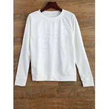 skeleton print halloween sweatshirt best deals online shopping