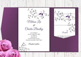 folding wedding invitations pocket wedding invitation template 17 psd jpg indesign format