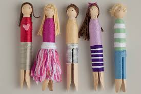 8 ways to make wooden dolls handmade