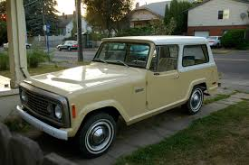 commando jeepster old parked cars 1972 jeep jeepster commando
