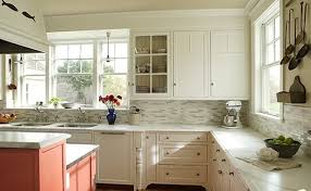 backsplash for white kitchens kitchen backsplashes with white cabinets railing stairs