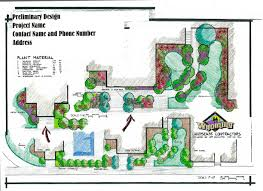 Landscape Floor Plan by Baierlein Landscape Inc Design Idolza