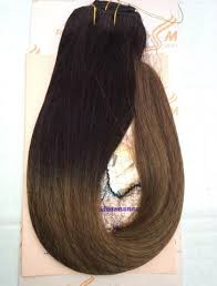 tressmatch hair extensions ombre clip in hair extensions balayage real human hair