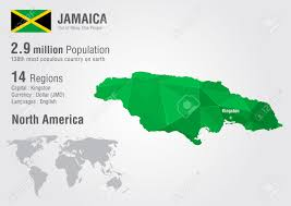 World Geography Map Jamaica World Map With A Pixel Diamond Texture World Geography