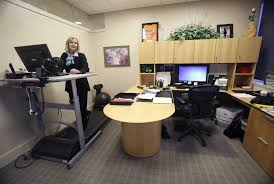 Rent Treadmill Desk Exercise Tools Step Into The Office San Antonio Express News