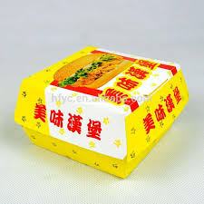 disposable burger box packaging burger box templates buy