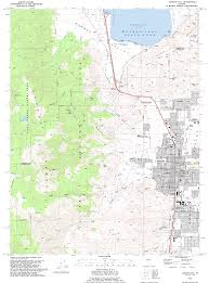 Dma Map Topographic Maps Of Lake Tahoe Area