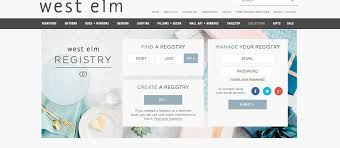 find bridal registry westelm the wedding registry for creative brides miami weddings