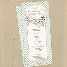 menu template baby shower menu invitation samples boy c babyshower