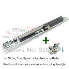 Buy Armoire Aliexpress Com Buy Armoire Hanging Wheel Sliding Door System