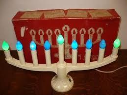 9 5 single light ivory candolier christmas indoor candle l vintage noma 9 light christmas window candle candolier light menorah