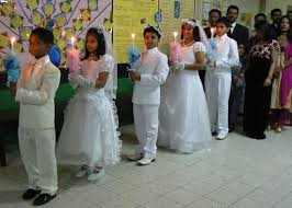 First Holy Communion Decorations India Gujarat Allegations Of Forced Conversions Of First