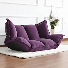 Chaise Lounge Sofa Beds Floor Furniture Reclining Japanese Futon Sofa Bed Modern Folding