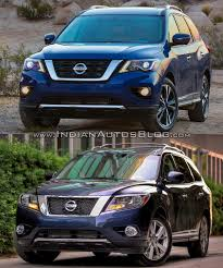 2017 nissan armada cloth interior 2017 nissan pathfinder vs older model old vs new