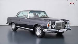classic mercedes coupe mercedes w111 with an amg v8 could be yours for 465 000