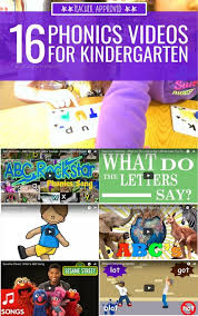 16 phonics videos for kindergarten kindergartenworks