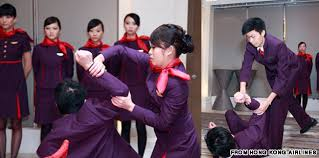 airline cabin crew kung fu compulsory for hong kong airlines cabin crew cnn travel