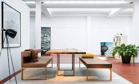 minimalist dining table bench seat topup wedding ideas