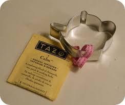 tea favors one a day apple tea party favors
