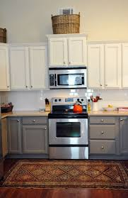 painted kitchen cabinets ideas colors multi colored kitchen cabinets home design ideas