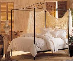 Wrought Iron Canopy Bed Iron Canopy Bed Frame Bonners Furniture