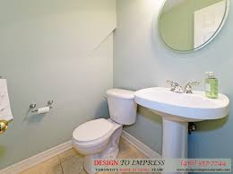 The Powder Room Mississauga Toronto Home Staging 5 Jonathan Dunn Way