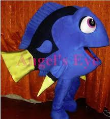 Finding Nemo Halloween Costumes Finding Nemo Dory Fish Mascot Costume Foam Head Mini Fan