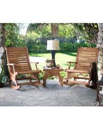 Rocking Chairs On Sale Check Out These Bargains On Outdoor Belham Living Avondale Wood