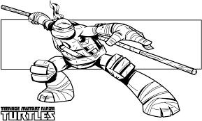 teenage mutant ninja turtles coloring pages funycoloring