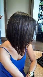 medium length stacked hair cuts medium bobs picmia