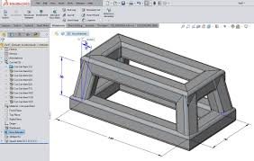 solid model as reference geometry for a solidworks weldment sketch