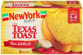 Garlic Bread In Toaster Texas Toast Garlic Bread New York Bakery