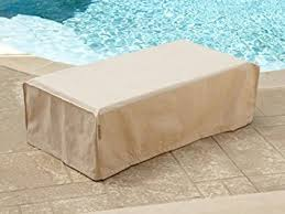 Patio Table Covers Rectangular Covermates Indoor Outdoor Patio Rectangular Accent