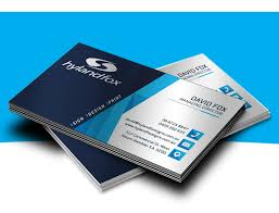 Commercial Business Card Printer Business Cards Hyland Fox Sign Design Print