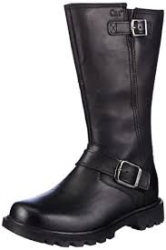 womens biker boots uk cat footwear s everyday 10 biker biker boots amazon co uk