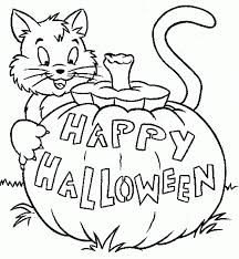 spooky halloween coloring pages printable archives gallery