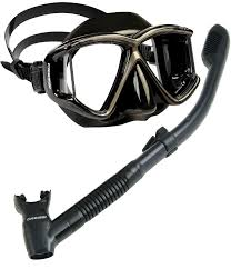 all black amazon com cressi panoramic wide view mask with dry snorkel set