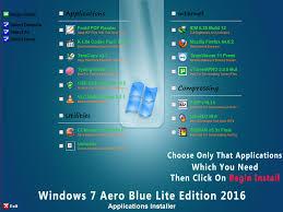 Windows 7 Aero Blue Lite Edition 2016 V2 0 X86 English