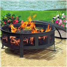 Firepit Wood Outdoor Wood Burning Pits Crafts Home