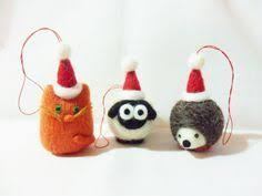 212 best felted christmas images on pinterest felted wool